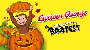 Netflix box art for Curious George: A Halloween Boo Fest