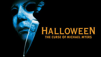 Netflix box art for Halloween 6: The Curse of Michael Myers