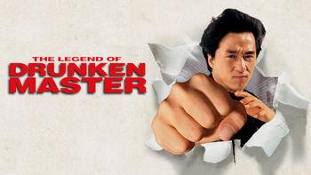 Netflix box art for The Legend of Drunken Master