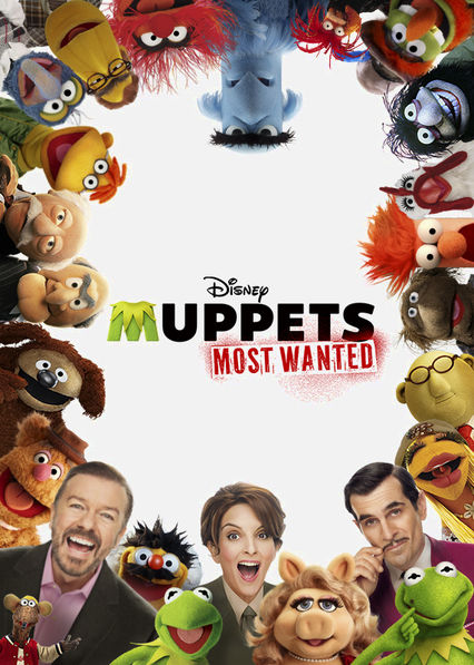 Muppets Most Wanted Netflix AR (Argentina)
