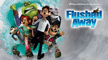 Netflix box art for Flushed Away