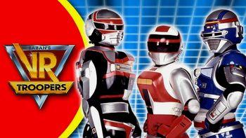 Netflix box art for V.R. Troopers - Season 1