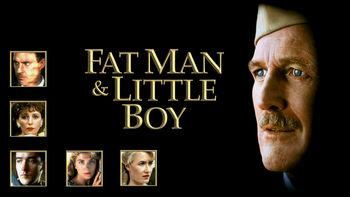 Netflix box art for Fat Man & Little Boy