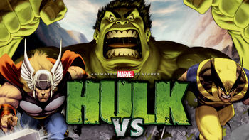 Netflix box art for Hulk Vs.