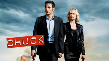 Netflix box art for Chuck - Season 4