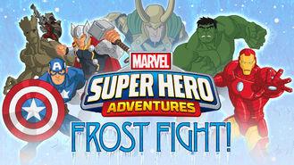 Netflix box art for Marvel Super Hero Adventures: Frost Fight!