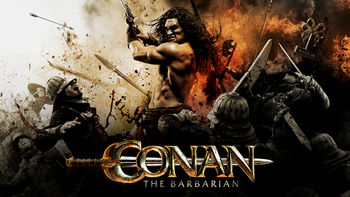 Netflix box art for Conan the Barbarian