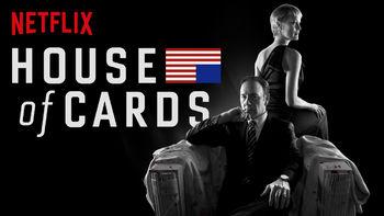 Netflix box art for House of Cards - Season 1