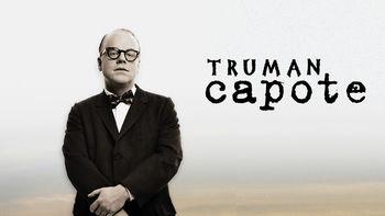 Netflix box art for Capote