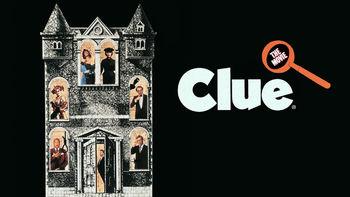 Netflix box art for Clue