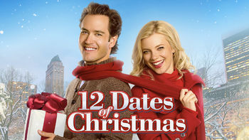 Netflix box art for 12 Dates of Christmas