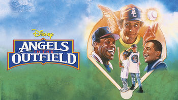 Netflix box art for Angels in the Outfield