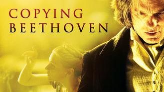 Netflix box art for Copying Beethoven