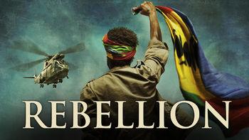 Netflix box art for Rebellion