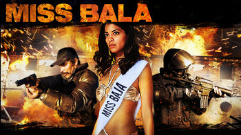 Netflix box art for Miss Bala