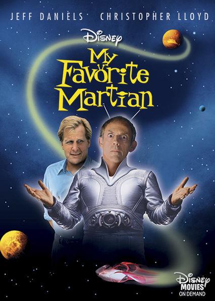 My Favorite Martian Netflix AW (Aruba)