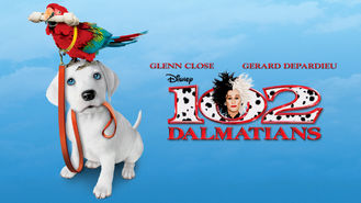 Netflix box art for 102 Dalmatians