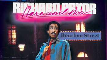 Netflix box art for Richard Pryor: Here and Now