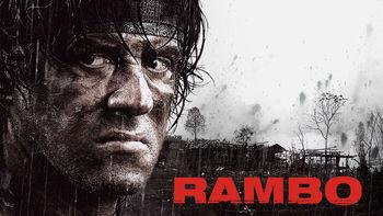 Netflix box art for Rambo