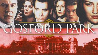 Netflix box art for Gosford Park