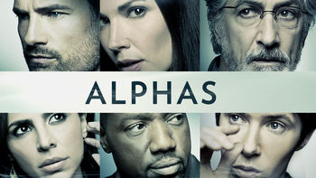 Netflix box art for Alphas - Season 1