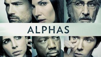 Netflix box art for Alphas - Season 1