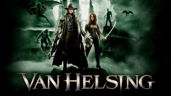 Netflix box art for Van Helsing