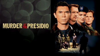 Netflix box art for Murder at the Presidio