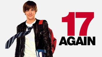 Netflix box art for 17 Again