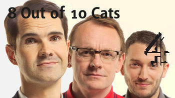 Netflix box art for 8 out of 10 Cats - of 10