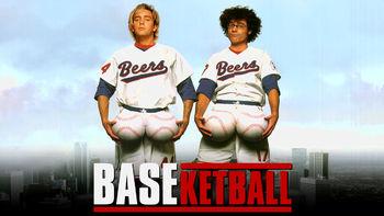 Netflix box art for BASEketball