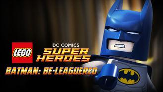 Netflix box art for Lego DC Comics: Batman Be-Leaguered
