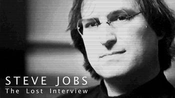 Netflix box art for Steve Jobs: The Lost Interview