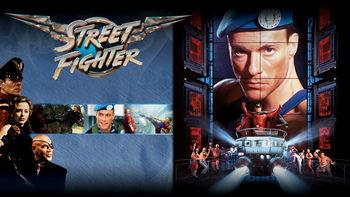 Netflix box art for Street Fighter