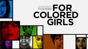 Netflix box art for For Colored Girls