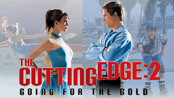 Netflix box art for The Cutting Edge: Going for the Gold