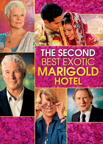The Second Best Exotic Marigold Hotel Netflix UK (United Kingdom)