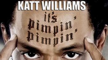 Netflix box art for Katt Williams: It's Pimpin' Pimpin'