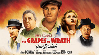 Netflix box art for The Grapes of Wrath