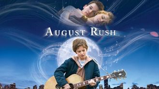 Netflix box art for August Rush