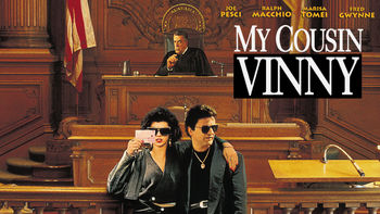 Netflix box art for My Cousin Vinny
