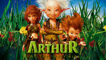 Netflix box art for Arthur and the Invisibles