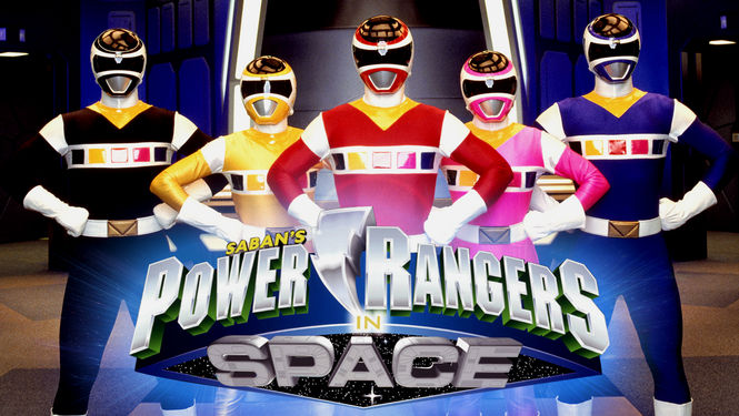 Netflix Box Art for Power Rangers in Space - Episodes 26-43