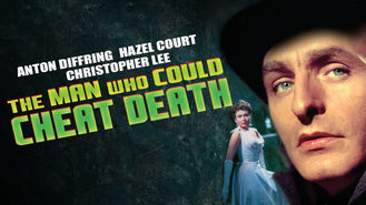 Netflix box art for The Man Who Could Cheat Death