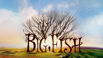 Netflix box art for Big Fish