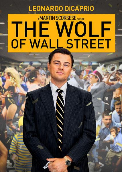 The Wolf of Wall Street Netflix BR (Brazil)
