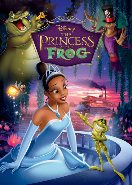The Princess and the Frog Netflix BR (Brazil)