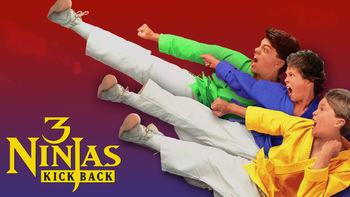 Netflix box art for 3 Ninjas: Kick Back
