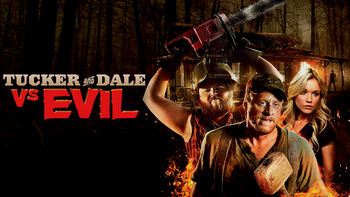 Netflix box art for Tucker and Dale vs. Evil