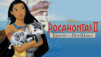 Netflix box art for Pocahontas II: Journey to a New World